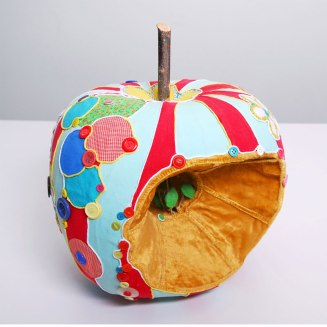 Au coeur de la pomme - Amélie Lamontagne artiste - La Montagne Ô